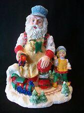 Vintage 1995 Santas Magical Toyshop Train Time Figurine Collectable Boy Workshop