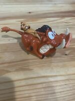 Burger King Disney Lion King Collection Pumbaa McDonalds Fast Food Toy Happy