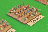15mm marlburian / scots - jacobite highlanders c.1680 24 figs - inf (55333)