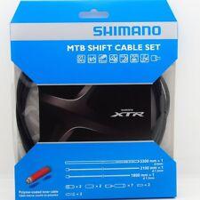 Shimano XTR M9000 MTB Polymer Coated Shift Cable & Housing Kit Black