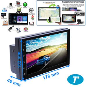 "7"" Android 8.1 2Din 16GB Car Radio GPS Navigation Audio Stereo  MP5 Player FM BT"