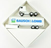Winross 1987 Bausch & Lomb Semi Truck and Trailer 1:64 Scale NIB