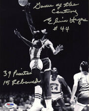 Elvin Hayes SIGNED 8x10 Photo Game Of The Century Houston Cougars UCLA PSA/DNA