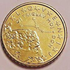 50 cent centimes slovénie EURO SUP Slovenia