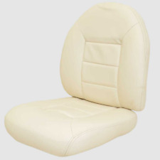 Tempress Boat Fishing Seat Cushions | Cream Replacement (Set of 2)