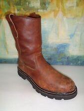 Herman Survivors*Roper  BROWN Leather Work Boots Men Size 8