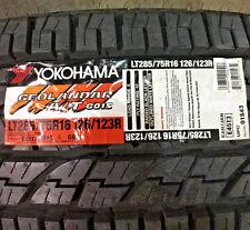 4 New LT 285 75 16 Yokohama Geolandar A/T G015 10 Ply Tires