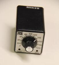 RS 349-951 SINGOLO Timer Relè 8 PIN 5-200s12Vdc #S1249
