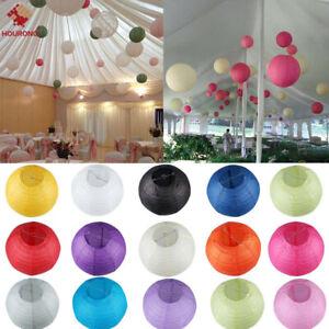 1 PCS/5PCS Paper Lantern Wedding Round Shade Grad Party Ceiling Decor