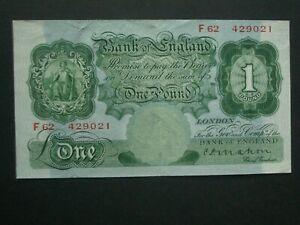 **Nice  Mahon £1 'GVF'+ 1928 BANKNOTE***