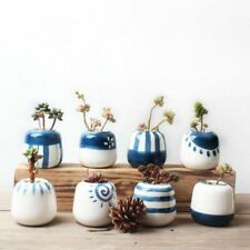 Original Design Mini Ceramic Succulent Plant Pot Handmade Planter Home Decor