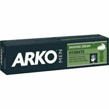 ARKO Men SHAVING CREAM HYDRATE  100ML FRESH Barbers mens facial care