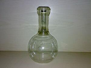 Stehkolben rund SCHOTT u GEN. JENA 32 N.W. * Laborflasche Kolben * 1 Liter ---->