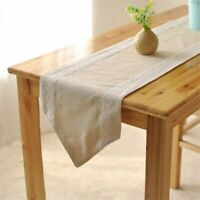 Table Runners Decorative Elegant Lace Cotton Lace Coffee Table Flags Home Cloth