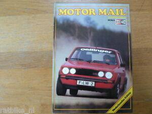 CHAMPION MOTOR MAIL 2-78,VW GOLF GTI,MIKKOLA,GIUGIARO,