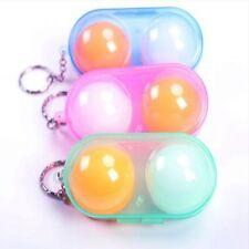 Table Tennis 2 Balls Case Ping Pong Ball Hard Case Holder Carrier Random Color