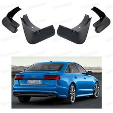 Car Mud Flaps Splash Guard Fender Mudguard Set for Audi A6 Sedan 2016-2017 Up