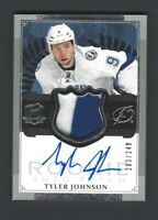 2013-14 UD The Cup TYLER JOHNSON Rookie Auto Patch #203/249