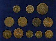 MEXICO ESTADOS UNIDOS MID 20TH CENTURY 5, 10, 20, 50 CENTAVOS, (12) BRONZE COINS