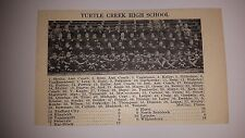 Turtle Creek & York High School Pennsylvania 1927 Football Team Picture