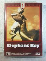 Elephant Boy DVD 1937 SABU - Black and White - Rare Movie - REGION 4 AUSTRALIA