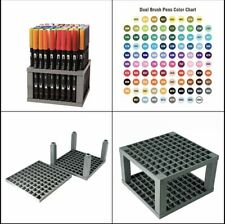Tombow 56149 Dual Brush Pen Art Markers, 96 Color Set with Desk Stand. NOOP