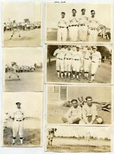 Big Lot 18 Antique Early 1920s ILLINOIS Baseball Photos Teams Players Games IL