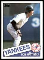 1985 Topps Don Mattingly New York Yankees #665