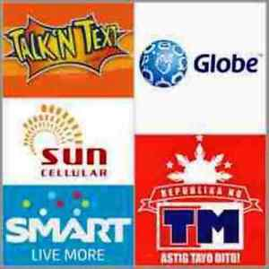 Smart, Globe, Sun, TM, Talk N Text P100 Prepaid eLoad