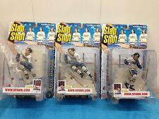 Slapshot Hockey set of 3 figures - Jack, Jeff and Steve Hanson - McFarlane Toys