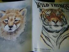 Wild Things Painting Book #2 Tiger Cheetah Eagle Deer Squirrel Chipmunk Doves