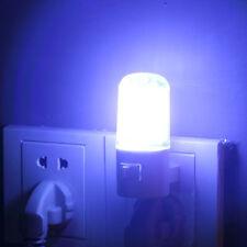 NEW 4 LED Wall Mounting Bedroom Night Lamp Licht Light Plug Lighting Bulb AC XP