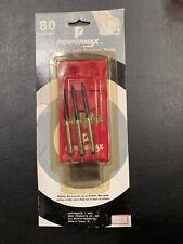 "Vintage Performax 6"" Brass Darts With Aluminum Shafts 80 Dart Set"