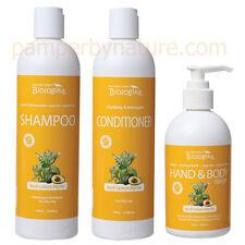 Biologika Lemon Myrtle Shampoo + Conditioner + Hand & Body Wash with pump