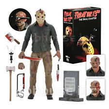 "7"" ULTIMATE JASON VOORHEES figure FRIDAY THE 13TH final chapter PART 4 IV neca"