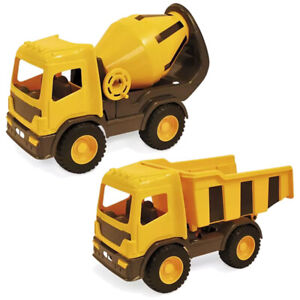 Large 42cm Construction Dumper Truck Cement Tipping In/Outdoor Childrens Toy