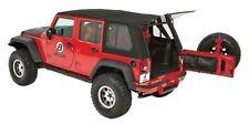 2007-2017 Jeep Wrangler Unlimited Bestop Trektop Pro Hybrid Soft Top Black Twill