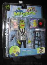 JOHNNY FIAMA with SHARK SKIN COAT The Muppets Show Series 7, Palisades 2004 MOC