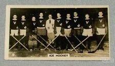 1927 World of Sport Hockey Card #9 Montreal Victorias