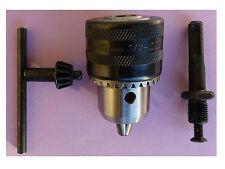 Bohrfutter mit SDS Plus1,5-13mm Adapter+Bohrfutterschlüssel Zahnkranzbohrfutter