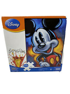 Disney Expressions Puzzle Mickey Mouse 300 Piece NEW Sealed Box Family Jigsaw
