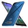 "Cover Custodia Gel Silicone Trasparente Per LG K50 / Q60 (4G) 6.26"""