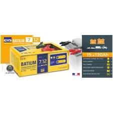 GYS automatisches Batterieladegerät mit Mikroprozessor BATIUM 7 12 024496