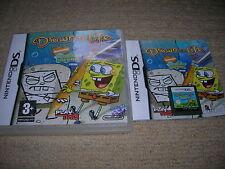 DRAWN TO LIFE : Spongebob Squarepants Edition - Rare Boxed Nintendo DS Game !!