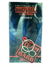 Keychain Key Ring PVC Stranger Things Team Barb Official New