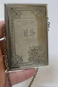 Antique 1852/1865 Gorham Sterling Silver Card Case