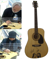 Up In Smoke Comedy Duo Cheech and Chong Signed Autographed Acoustic Guitar Proof