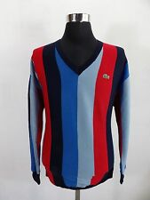 Rare and great Men's LACOSTE Jumper, Sweater, Size 5, M Medium, Wool #BL1033