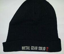 Metal Gear Solid 2---Beanie Mütze Kappe---Rar---Selten---TOP