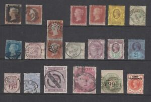 GB Victoria  Mint and Used